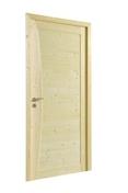Bloc-porte MISTRAL huisserie 72x45mm en épicéa 1er choix haut.204cm larg.83cm droit poussant - Isolant polystyrène tête de plancher ABOUTHERM 40 TH38 long.100cm haut.20cm ép.4cm - Gedimat.fr