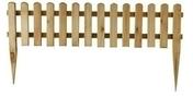 Bordure bois d�corative � planter haut.30/60 cm larg.110 cm �p.3 cm - Gravier marbre blanc calibre 8/16 sac de 25kg - Gedimat.fr