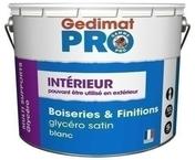 Laque glycéro satinée pot de 10L - Laques - Peinture & Droguerie - GEDIMAT
