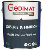 Peinture glycéro boiserie & finition mat 2,5 L GEDIMAT PERFORMANCE PRO - Peintures - Peinture & Droguerie - GEDIMAT