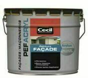 Peinture facade PEF ACRYL blanc  - pot 10l - Peintures façades - Peinture & Droguerie - GEDIMAT