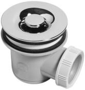 Bonde de douche grille en ABS chromé WIRQUIN pour receveur diam.60mm sortie horizontale - Cabines de douche - Salle de Bains & Sanitaire - GEDIMAT