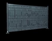 Kit d'occultation PLASTISIS II en PVC Long.2 x Haut.1,43 m Vert - Grillages - Aménagements extérieurs - GEDIMAT