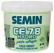 Enduit joint allégé CE78 hydro pâte - sac de 5kg - Spatule de peintre type américain - 102mm - Gedimat.fr
