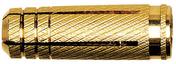 Cheville à expansion en laiton MS 6x24 avec filetage métrique en sachet de 30 pièces - Chevilles - Quincaillerie - GEDIMAT