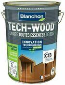 Lasure Tech-Wood incolore - pot 5l - Traitements curatifs et préventifs bois - Peinture & Droguerie - GEDIMAT