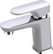 Mitigeur lavabo ELLIOT gris & chromé - Baignoire ilôt FREESTARK long.174cm larg.80cm blanc - Gedimat.fr