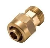 Raccord droit PER à compression diam.16mm mâle 1/2'' - Tubes et Raccords d'alimentation eau - Plomberie - GEDIMAT