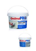 Enduit à joint 24h en pâte Gedimat Pro seau de 25 kg - Enduit pour lisser les murs et plafonds sac de 5kg - Gedimat.fr