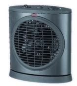 Radiateur oscillant noir 2000W - Radiateurs électriques - Chauffage & Traitement de l'air - GEDIMAT