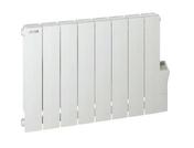 Radiateur à inertie fluide COTONA LCD 1500W L.87,2xH.57,5xP.8cm - Rive universelle coloris Chevreuse - Gedimat.fr