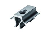 Clip démontable aluminium noir pour lames de terrasse FOREXIA & ATMOSPHERE  sachet de 10 pièces - GEDIMAT - Matériaux de construction - Bricolage - Décoration