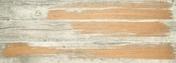 Décor PAINTGOLD pour sol intérieur en grès cérame coloré dans la masse rectifié larg.20cm long.180cm coloris blanc - Porte d'entrée HANOI en aluminium droite poussant haut.2,00m larg.90cm laqué blanc - Gedimat.fr