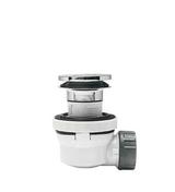 Siphon pour vasque avec trop-plein XS PURE - Vidages - Salle de Bains & Sanitaire - GEDIMAT
