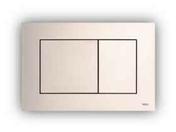 Plaque de commande TECENOW NF chromé mat - WC - Mécanismes - Salle de Bains & Sanitaire - GEDIMAT