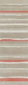 Décor LINED pour mur en faïence NUXE larg.25cm long.75cm coloris sand red - Carrelages murs - Cuisine - GEDIMAT