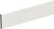 Plinthe pour carrelage sol en grès cérame émaillé CLAYSTONE larg.9,5cm long.45cm coloris blanc - Plinthe carrelage pour sol KOSHI larg.9,5cm long.45cm coloris gris foncé - Gedimat.fr