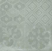 Décor PORTLAND pour sol en grès cérame emaillé RIVERSIDE dim.60x60cm coloris 60G gris - Carrelages sols intérieurs - Cuisine - GEDIMAT