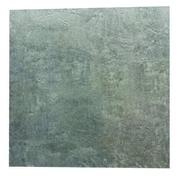 Carrelage pour sol extérieur en grès cérame émaillé ESTATE dim.45x45cm coloris anthracite - Rive individuelle gauche à recouvrement grand modèle coloris noir brillant - Gedimat.fr