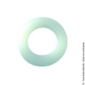 Rondelle PVC (x10) diam.16mm - Quincaillerie d'ameublement - Menuiserie & Aménagement - GEDIMAT
