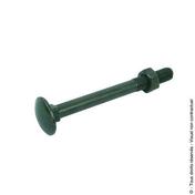 Boulon TRCC (x30) L.45mm diam.7 noir - Boulons - Ecrous - Rondelles - Quincaillerie - GEDIMAT