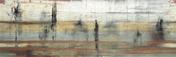 Décor IMPRESSIONS pour mur en faïence satinée rectifiée MEGALOS HIPSTER larg.29,5cm long.90,1cm - Tuile CANAL coloris paysage - Gedimat.fr