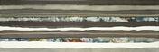 Décor ORIGINS pour mur en faïence satinée rectifiée MEGALOS NOVA larg.29,5cm long.90cm - Listel Barcode carrelage pour mur en faïence WALL larg.2,5cm long.46 cm coloris A - Gedimat.fr