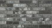 Briquettes en grès cérame émaillé LONDON BRICK larg.6cm long,25cm coloris charcoal - Carrelage pour mur en faïence GARDEN dim.25x40cm coloris malva - Gedimat.fr