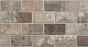 Briquettes en grès cérame émaillé LONDON larg.13 cm long.25 cm ép.10 mm Brown - Carrelage mural CUBICS 15x61 cm Ép.7-11mm Multicolore - Gedimat.fr