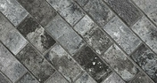 Briquettes en grès cérame émaillé LONDON BRICK larg.13cm long,25cm coloris charcoal - GEDIMAT - Matériaux de construction - Bricolage - Décoration