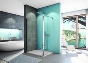 Kit de fixation pour paroi LINEA haut.200cm verre transparent - Portes - Parois de douche - Salle de Bains & Sanitaire - GEDIMAT