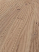 Parquet contrecollé monolame chêne TRENDTIME ASPECT AUTHENTIQUE ép.15mm larg.190mm long.1882mm chêne blanchi brossé - Colonne de douche non hydro DOME DE PLUIE TOUAREG laiton chromée - Gedimat.fr
