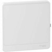 Porte Styl 1R blanc Resi9 - Tableaux électriques - Electricité & Eclairage - GEDIMAT