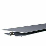 Angle intérieur/extérieur ép.16 mm larg.98 mm long.4 m Gris Clair - Habillages de façade - Matériaux & Construction - GEDIMAT