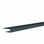 Profilé de bordure ép.12 mm larg.20 mm long.4 m gris anthracite - Planche de rive PVC cellulaire à clouer ép.16 mm larg.200 mm long.4 m Gris Anthracite - Gedimat.fr