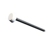 Pointe couleur pour planche de rive hauteur 40 mm Blanc - Profil PVC départ pour lambris PVC ép.8 ou 10mm long.2,60m blanc - Gedimat.fr
