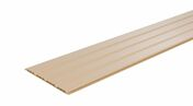 Lambris sous face PVC extérieur ép.10 mm larg.250 mm utile (264,5 hors tout) long.4 m Sable - Lambris sous face PVC extérieur ép.10 mm larg.250 mm utile (264,5 hors tout) long.4 m Gris clair - Gedimat.fr