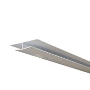 Profilé de raccord ép.12mm larg.37mm long.4m Blanc - Planche de rive PVC alvéolaire Long.4 x Larg.0,2 m Ep.10 mm Blanc - Gedimat.fr