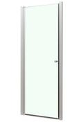 Porte pivotante MARINE long.80cm haut.195cm verre transparent - Brique de verre CUBIVER ép.8cm dim.19,8x19,8cm satinée - Gedimat.fr