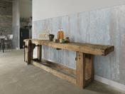 Lambris PVC ELEMENT COMPACT PREMIUM CABANE ép.6mm larg.154mm long.1,20m Bleu - Lambris - Revêtements décoratifs - Revêtement Sols & Murs - GEDIMAT