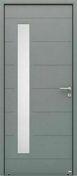Porte d'entrée ALBE en aluminium thermolaqué  droite poussant haut.2,15m larg.90cm - Bois Massif Abouté (BMA) Sapin/Epicéa traitement Classe 2 section 60x240 long.10,50m - Gedimat.fr
