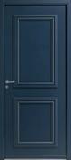 Porte d'entrée PICTO1 en aluminium thermolaqué droite poussant haut.2,15m larg.90cm - Porte d'entrée NATIV 1 en bois red cedar gauche poussant haut.2,15 larg.90cm avec poignée inox Roci - Gedimat.fr