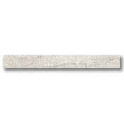 Plinthe carrelage pour sol intérieur en grès cérame émaillé rectifié lappato BETON larg.9cm long.75cm coloris blanc - Carrelages sols intérieurs - Revêtement Sols & Murs - GEDIMAT