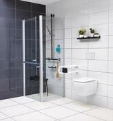 Paroi long.90cm haut.200cm ELANA - Portes - Parois de douche - Salle de Bains & Sanitaire - GEDIMAT