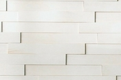 Revêtement mural pin maritime massif 3D NEOGRAPHE ép.10-18mm larg.70mm long.500mm Guggenheim blanc - Feuille de stratifié HPL sans Overlay ép.0.8mm larg.1,30m long.3,05m décor Noir finition Brillant miroir - Gedimat.fr