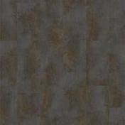 Sol vinyle à cliquer ID ESSENTIAL CLICK30 dalles ép.4mm larg.310mm long.603mm métal vieilli brun - Profil PVC départ clipsable ép.5 à 8 mm long.2,60m grey - Gedimat.fr