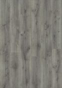 Sol vinyle à cliquer ID INSPIRATION CLICK55 lames ép.4.5mm larg.200mm long.1220mm Rustic oak medium grey - Porte seule gravée avec inserts à poser non inclus ESCALE haut.2,04m larg.73cm - Gedimat.fr