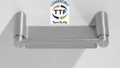 Porte savon PHILADELPHIA long.150mm larg.80mm prof.33mm fintion satin - Armoires de toilette et Accessoires - Salle de Bains & Sanitaire - GEDIMAT