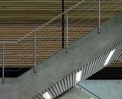 Kit complémentaire garde-corps RAILING INOX 304 pose latérale haut.1,10m long.1,50m - Escaliers - Menuiserie & Aménagement - GEDIMAT