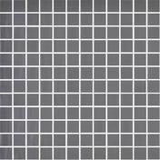 Emaux de verre de 2,5x2,5cm pour mur et piscine NATUREGLASS sur trame de 31,1x31,1cm coloris dark grey - Mosaïques - Galets - Revêtement Sols & Murs - GEDIMAT